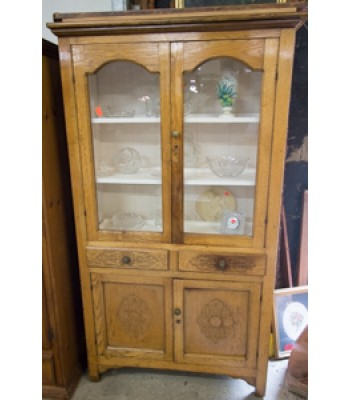 Pressed Wood China Cupboard