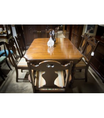 Oak Antique Dining Room Set