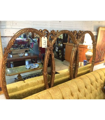 SOLD - Faux gold mirror