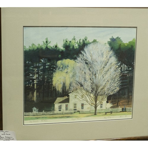 Watercolor of Hale Farm