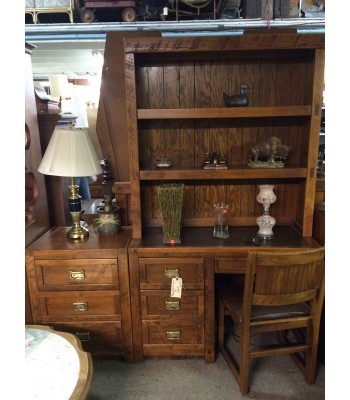 SOLD - Young Himble Full Bedroom Set