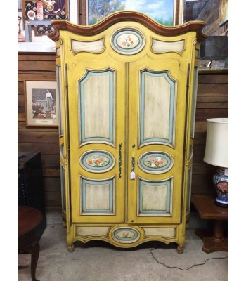 SOLD - Custom Painted Armoire