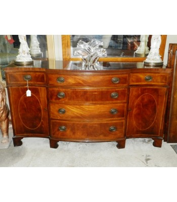 SOLD - Georgian Style Mahogany Sideboard with String Inlay