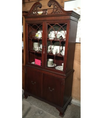 SOLD - Duncan Phyfe China cabinet