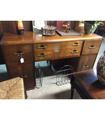Antique Burl Wood Sideboard or Buffet