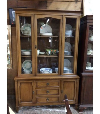 SOLD - Mid-century Hutch/China Cupboard