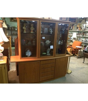 SOLD - Ethan Allen Modern China Cupboard