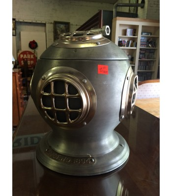 SOLD - Nautical diver ice bucket