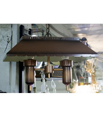 Bronzed-look Hanging Lamp
