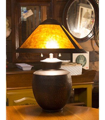 SOLD - Mission Style Lamp