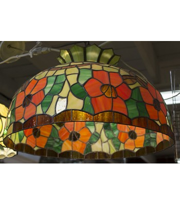 Sunflower Tiffany-style Lamp