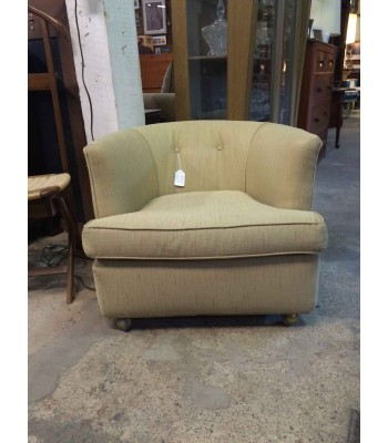 SOLD - Barrel back chair