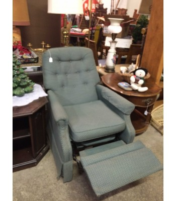 SOLD - Bradington Young Green Recliner