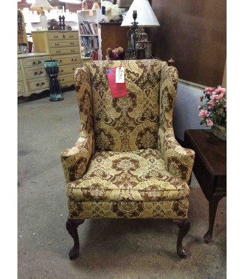 SOLD - Hickory Co. Wingback Chair