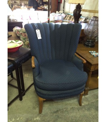 SOLD - Blue Arm Chair