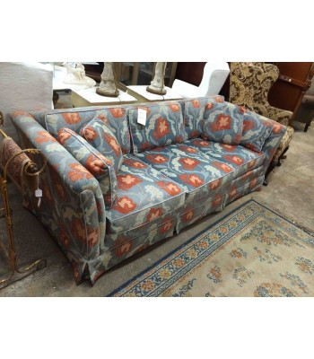 SOLD - Floral Couch by Heritage
