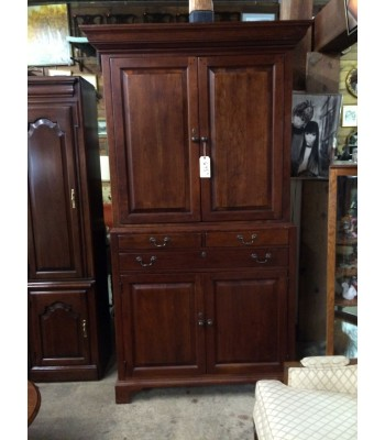 SOLD - Bob Timberlake Media Armoire