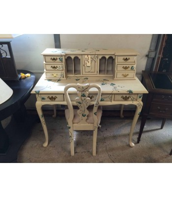 SOLD - Jasper Painted Desk with Chair