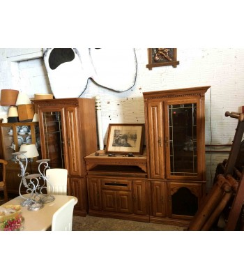 SOLD - Large Entertainment Center with Storage
