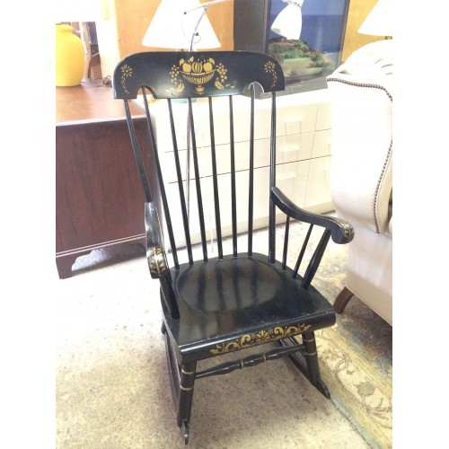 Black Painted Rocker