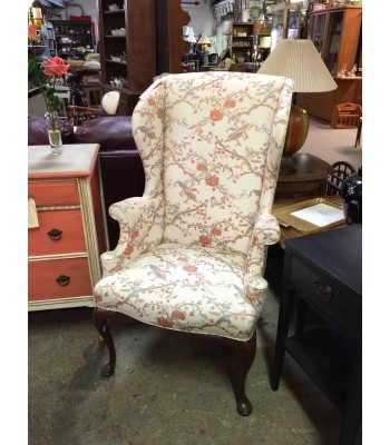 Hickory Chair Company Wingback Chair