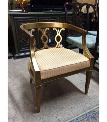SOLD - Curved Back Chair