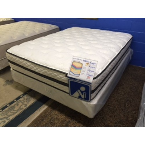 Queen mattress set Symbol Chateau Summit Top